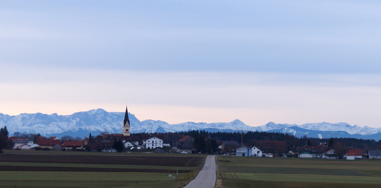 Hofstetten Panorama Landkreis Landsberg